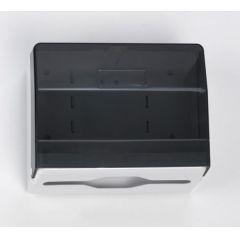 Handtuchspender klein (250) schwarz, Kunststoff