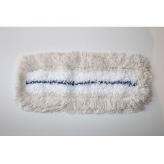 Krankenhausmop 50 cm weiß mit blauem Streifen
