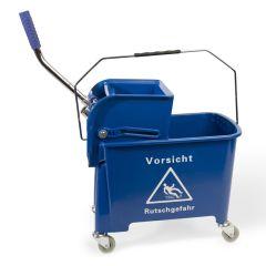 CleanSV Putzeimer blau Reinigungswagen