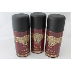 La Rive Deodorant Cabana 3 x 150 ml Herrendeo