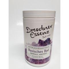 Basisches Bad Meersalz Amethyst 420 g Dresdner Essenz