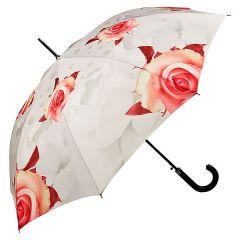Von Lilienfeld Stockschirm Regenschirm Damen Rosen creme