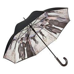 Von Lilienfeld Stockschirm Regenschirm Paris im Regen Damenschirm