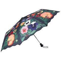 Von Lilienfeld Regenschirm Stiefmütterchen Taschenschirm