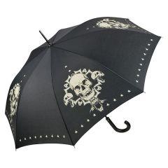 Von Lilienfeld Stockschirm Motivschirm Skull Regenschirm