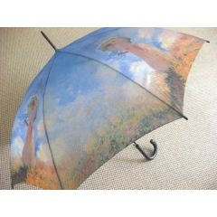 Stockschirm Regenschirm Monet III
