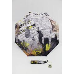 Y not? Regenschirm Skyline New York Mini Schirm Motivschirm