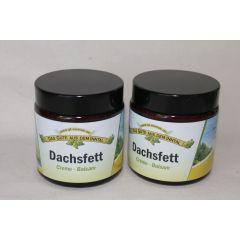Dachsfett Creme - Balsam Doppelpack 2 x 110 ml