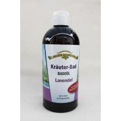 Kräuterbad Badeöl Lavendel 500 ml parfumfrei