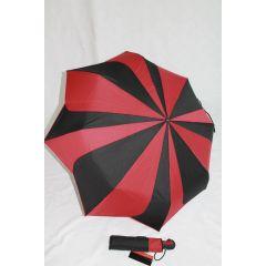 Pierre Cardin Automatik Regenschirm Sunflower schwarz/rot