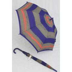 Esprit Stockschirm blau gestreift Regenschirm