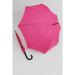 Happy Rain Regenschirm Stockschirm Dots pink