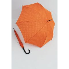 Happy Rain Regenschirm Stockschirm Dots orange