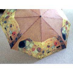 Happy Rain Regenschirm mit Motiv Klimt II leichter Taschenschirm