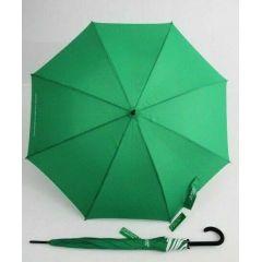 Benetton grüner Regenschirm Stockschirm Schirm