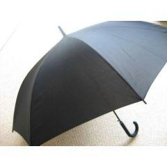 Benetton Regenschirm Stockschirm schwarz Damen Herren