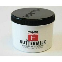 Village Körpercreme Vitamin E + Buttermilch 500 ml Buttermilk