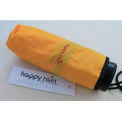Happy Rain kleiner Regenschirm 16 cm ultra mini gelb Mini Schirm