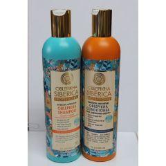 Sanddorn Shampoo & Balsam trockenes strapaziertes Haar je 400 ml