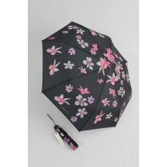 Esprit geblümter Regenschirm Millefleur Taschenschirm Damen