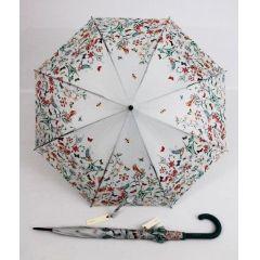 Esprit geblümter Regenschirm Stockschirm Flowers & Birds Damenschirm