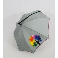 Nex moderner Regenschirm Stockschirm Motivschirm  Umhängeschirm Damen 08