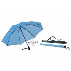 EUROSCHIRM Swing liteflex hellblauer Regenschirm für Damen und Herren Trekking