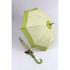 Pierre Cardin Stockschirm Pois hellgrüner Regenschirm
