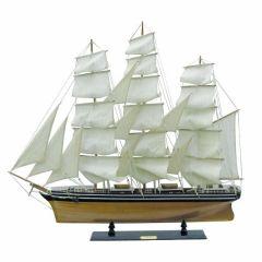 Großes Segelschiff, Schiffsmodell, Standmodell- maritime Deko 100 cm