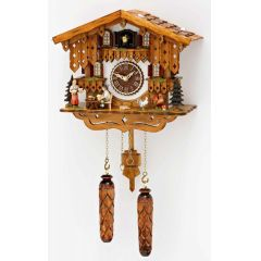 Orig. Schwarzwald- Kuckucksuhr mit 12 Melodien, Kuckuck -Cuckoo Clocks black forest