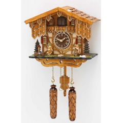 Orig. Schwarzwald- Kuckucksuhr - Musizierende- mit 12 Melodien, Kuckuck -Cuckoo Clocks