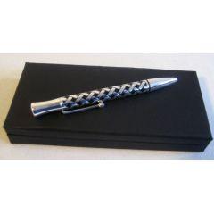 **Edler Kugelschreiber versilbert- Keltisch - handmade Germany