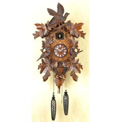 Orig. Schwarzwald- Kuckucksuhr- Vogelwelt-avifauna- Cuckoo Clock- handmade Germany Black Forest