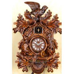 Orig. Schwarzwald- Kuckucksuhr- Vögel Jagdhorn- Cuckoo Clock- handmade Germany Black Forest