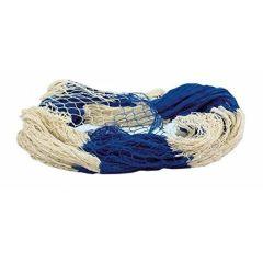 **XXL- Fischernetz - 4x 2 m- blau/natur