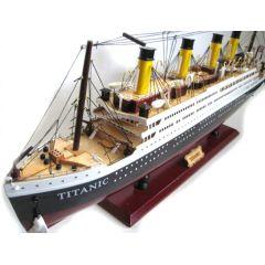 Großes Modell- Titanic- Schiffsmodell aus Holz- Gewicht 6000 g