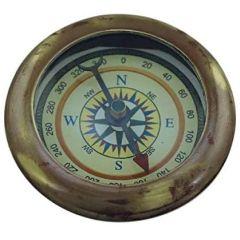 Kleiner Kompass im Antikdesign- kein polieren