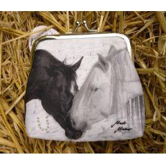 Clipgeldbörse Geldbeutel Portemonnaie Pferd Loving Horses