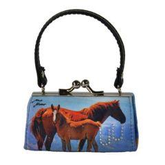Schminktäschchen / Clipgeldbörse Minibag Colorline Pferdemutter