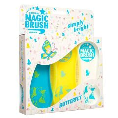 Magic Brush Pferdebürsten 3er Set Butterfly