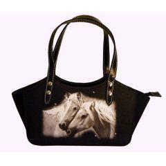 Handtasche Pferdefreundschaft Retroline groß