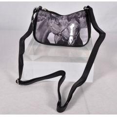 Minihandtasche Retro Edles Pferdepaar