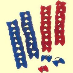 Mähnengummis / Mähnenschleifen