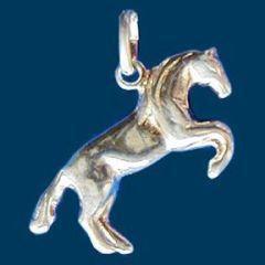 Anhänger Steigendes Pferd, Silber 925