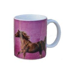 Tasse Pferd Thunderbolt pink
