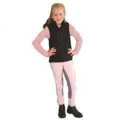 Kinder-Reithose Trendstar, rosa, Gr. 128