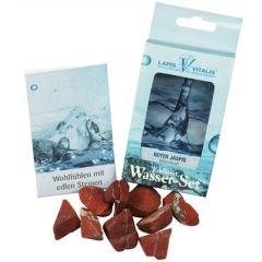 Wassersteine Jaspis rot - Willenskraft