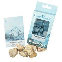 Wassersteine Landschaftsjaspis (Sandstein) - Ausdauer