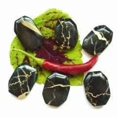 Stylolithen-Marmor, Flatstone (Handschmeichler, Taschenstein)