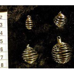 Spiralhalter / Spiralanhänger z.B. für Trommelsteine